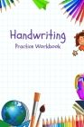 Handwriting: Writing Paper Practicing Book Cover Image
