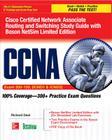 CCNA Cisco Certified Network Associate Routing and Switching Study Guide (Exams 200-120, Icnd1, & Icnd2), with Boson Netsim Limited Edition (Certification Press) Cover Image