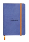 Rhodiarama Lined 4 X 5 1/2 Sapphire Blue Softcover Journal Cover Image