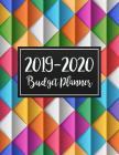 Budget Planner 2019-2020: Two year Daily Weekly & Monthly Calendar Expense Tracker Organizer For Budget Planner And Financial Planner Workbook ( Cover Image