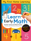 Learn Early Math: Developing Pre-K to Kindergarten Skills (My First Home Learning) Cover Image