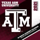 Texas A&m Aggies 2021 12x12 Team Wall Calendar Cover Image
