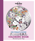 The World's Cutest Animal Coloring Book Cover Image