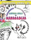 Mysterious & Magnificent Rainforest Animals of Madagascar: Coloring Book #1 Cover Image