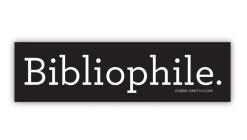 Bibliophile (Sticker) Cover Image