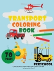 transport coloring book Cover Image