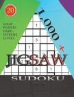 1,000 + sudoku jigsaw 9x9: Logic puzzles hard - extreme levels Cover Image