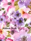 Address Book: Large Print 8.5