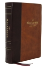 Nkjv, MacArthur Study Bible, 2nd Edition, Leathersoft, Brown, Comfort Print: Unleashing God's Truth One Verse at a Time Cover Image