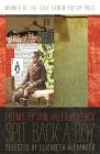 Spit Back a Boy: Poems (Cave Canem Poetry Prize) Cover Image