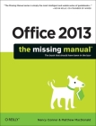 Office 2013: The Missing Manual (Missing Manuals) Cover Image