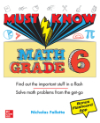 Must Know Math Grade 6 Cover Image