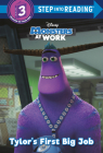 Tylor's First Big Job (Disney Monsters at Work) (Step into Reading) Cover Image