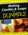 Making Candles & Soaps for Dummies Cover Image