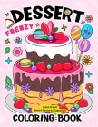 Dessert Frenzy Coloring Book Cover Image