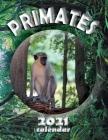 Primates 2021 Calendar Cover Image