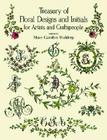 Treasury of Floral Designs and Initials for Artists and Craftspeople (Dover Pictorial Archive) Cover Image
