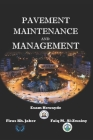 Pavement Maintenance and Management Cover Image
