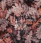 Guest Book, Visitors Book, Guests Comments, Holiday Home, Beach House Guest Book, Comments Book, Nautical Guest Book, Bed & Breakfast, Retreat Centres Cover Image