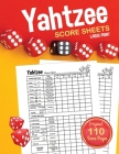 Yahtzee Score Sheets: Large Print Score Pads / Book Cover Image