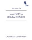 California Insurance Code [INS] 2021 Volume 2/3 Cover Image