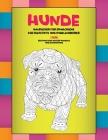 Malbücher für Erwachsene für Bleistifte und Kugelschreiber - Erstaunliche Muster Mandala und Entspannung - Tiere - Hunde Cover Image