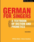 German for Singers Cover Image
