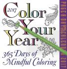 Color Your Year Page-A-Day Calendar 2017 Cover Image