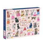 Cool Cats A-Z 1000 Piece Puzzle Cover Image