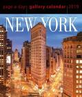 New York Page-A-Day Gallery Calendar 2019 Cover Image