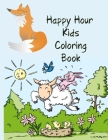Happy Hour Kids Coloring Book: Coloring Book for Robots, Number 1-10, Circus, Children and Mermaids for Kids Cover Image