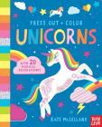 Press Out and Color: Unicorns Cover Image