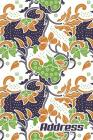 Address.: Address Book. (Vol. C00) Batik Cover Design. Glossy Cover, Contract Large Print, Font, 6