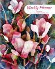 Weekly Planner: Flowers; 18 months; July 1, 2019 - December 31, 2020; 8