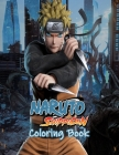 Naruto shippuden Coloring Book: EXCLUSIVE EDITION with over 50 beautiful illustrations from various series Cover Image