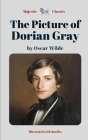 The Picture of Dorian Gray by Oscar Wilde (Majestic Classics / Illustrated with doodles): A Historical Literary Dark Fantasy / A Gripping British Horr Cover Image