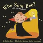Who Said Boo?: A Lift-the-Flap Book Cover Image