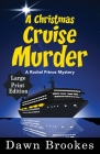 A Christmas Cruise Murder Large Print Edition Cover Image