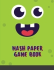 Mash Paper Game Book: Large Mash Game Notepad Game with Boxes Play with Your Friends and Discover Your Future Cover Image