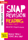 Collins Snap Revision – Reading (for papers 1 and 2): AQA GCSE English Language Cover Image