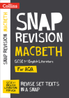 Collins Snap Revision Text Guides – Macbeth: AQA GCSE English Literature Cover Image