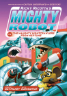 Ricky Ricotta's Mighty Robot vs. the Naughty Nightcrawlers from Neptune (Ricky Ricotta's Mighty Robot #8) (Library Edition) Cover Image