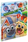 Disney Puppy Dog Pals: Mission Fun Lift-the-Flap Cover Image