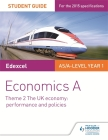 Edexcel Economics a Student Guide: Theme 2 the UK Economy - Performance and Policies Cover Image