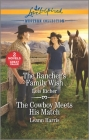 The Rancher's Family Wish & the Cowboy Meets His Match Cover Image
