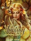Fantasy Coloring Book Cover Image