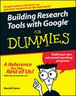 Building Research Tools with Google for Dummies Cover Image