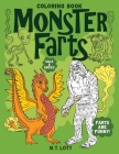 Monster Farts Coloring Book Cover Image