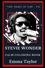 Stevie Wonder Calm Coloring Book Cover Image