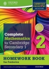 Complete Mathematics for Cambridge Secondary 1 Homework Book 2 (Pack of 15): For Cambridge Checkpoint and Beyond Cover Image